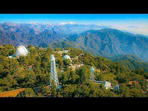 A Walk Around Mt. Wilson Observatory & The Drive Up There, Los Angeles