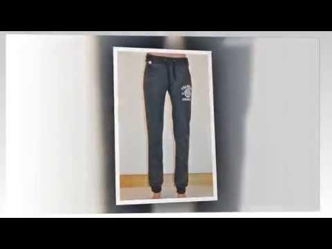 Getwear Женские стрейт джинсы с потёртостями - YouTube