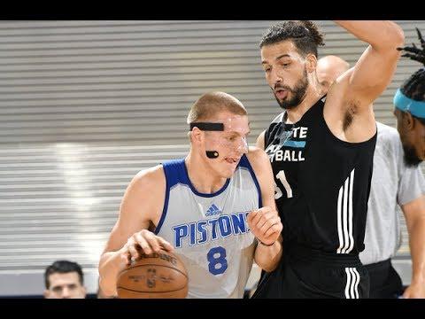 Full Highlights: Charlotte Hornets Vs. Detroit Pistons from Orlando Summer League