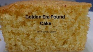 Golden Era Pound Cake