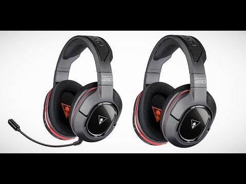 0c1386b3447 Turtle Beach Ear Force Stealth 450 Wireless Surround Sound PC Headset