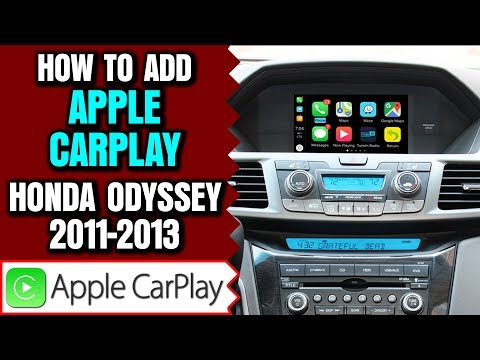 Honda Odyssey Apple Carplay, 2011-2013 Honda Odyssey Apple Carplay Honda Odyssey Android Auto 2 In 1