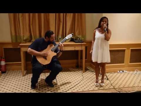 Totally Mesmerising Brazilian Female Singer and Guitarist Duo - Dubai Entertainers