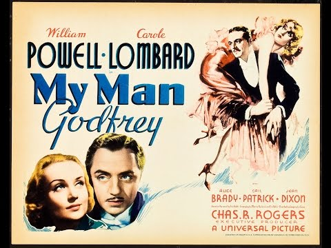 My Man Godfrey 1936 -William Powell &  Carole Lombard Full Movie