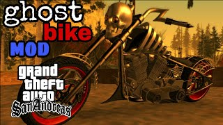 Gta san Andreas new ghost bike mod for Android devices