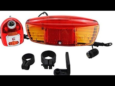 BBR Tuning Bicycle 3-in-1 Bicycle Brake Light and Rear Turn Signals For Beach Cr