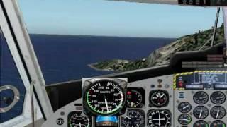 FS2004 Saba Landing