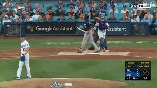 Cerveceros vs Dodgers, Juego 3 | Serie de Campeonato Liga Nacional