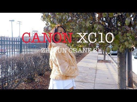 CANON XC10 - w / Zhiyun Crane 2 - Slow Motion