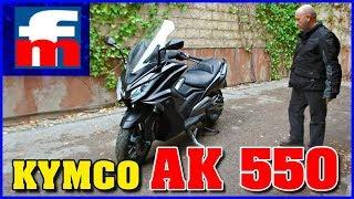 Kymco AK 550 | Así es el rival del Yamaha TMAX