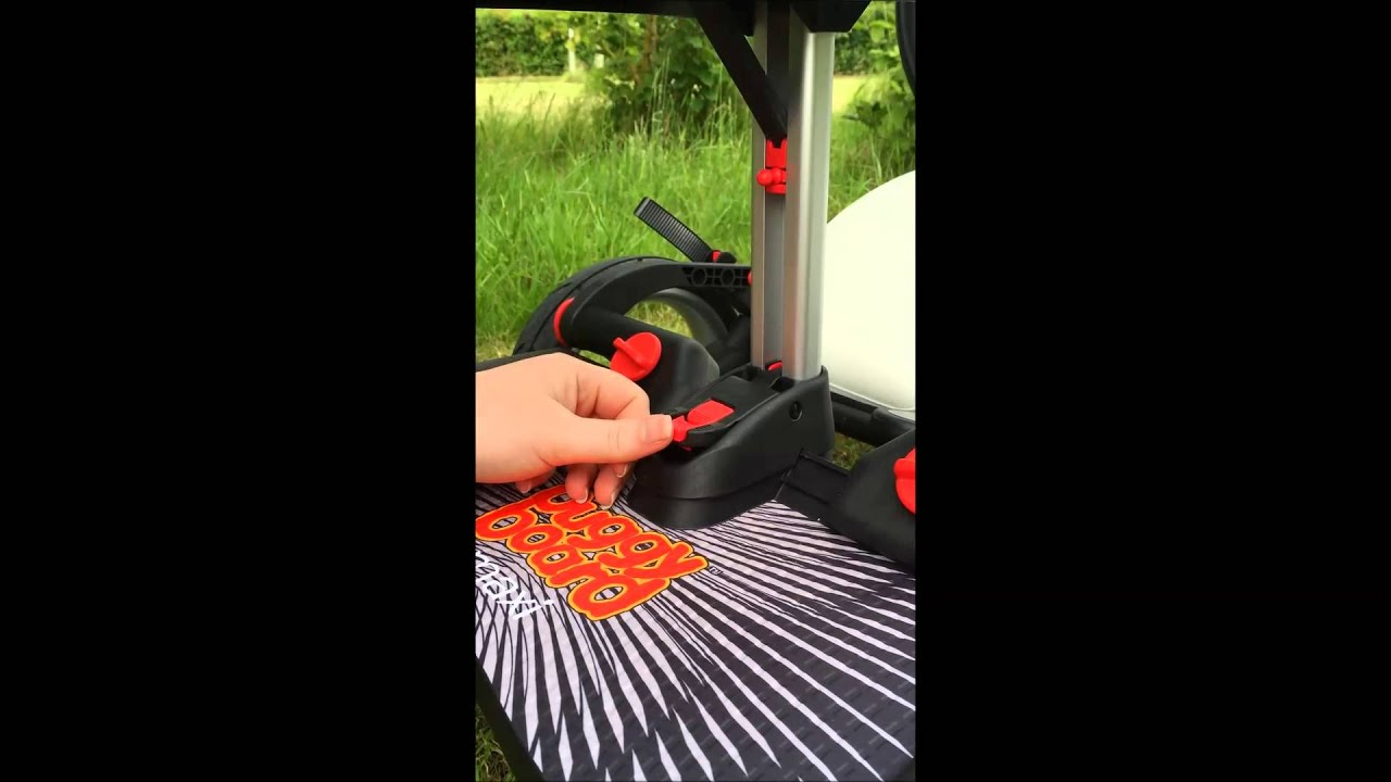 Buggy Board Schnur Lascal Buggyboard Saddle Fitting Video