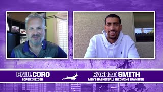 Men's Basketball Newcomer: Rashad Smith Interview