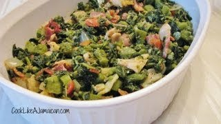 Jamaican Callaloo Recipe Video