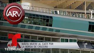 Niña murió al caer por la borda de un crucero | Al Rojo Vivo | Telemundo