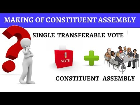 Making of Indian Constituent Assembly