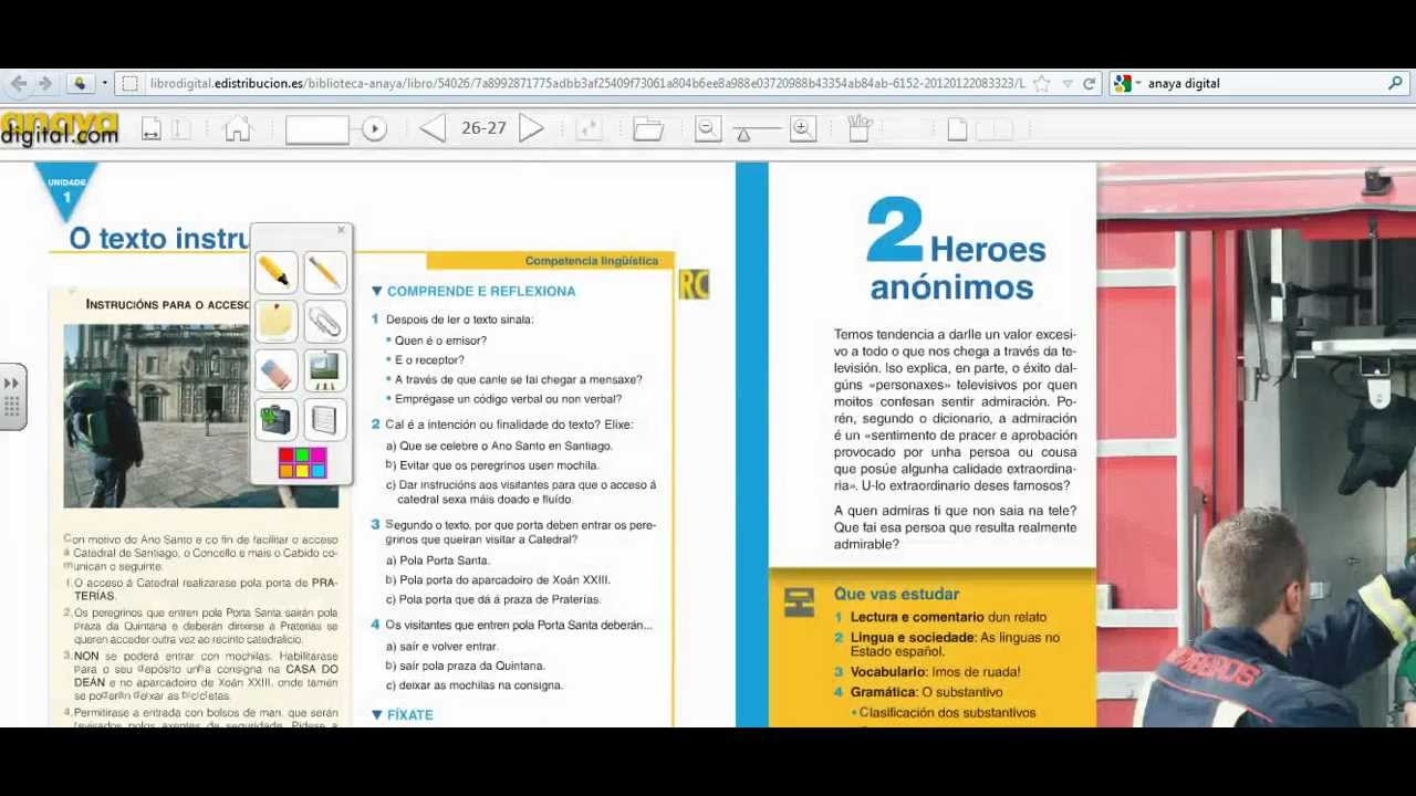Libro digital del profesor. Anaya - YouTube