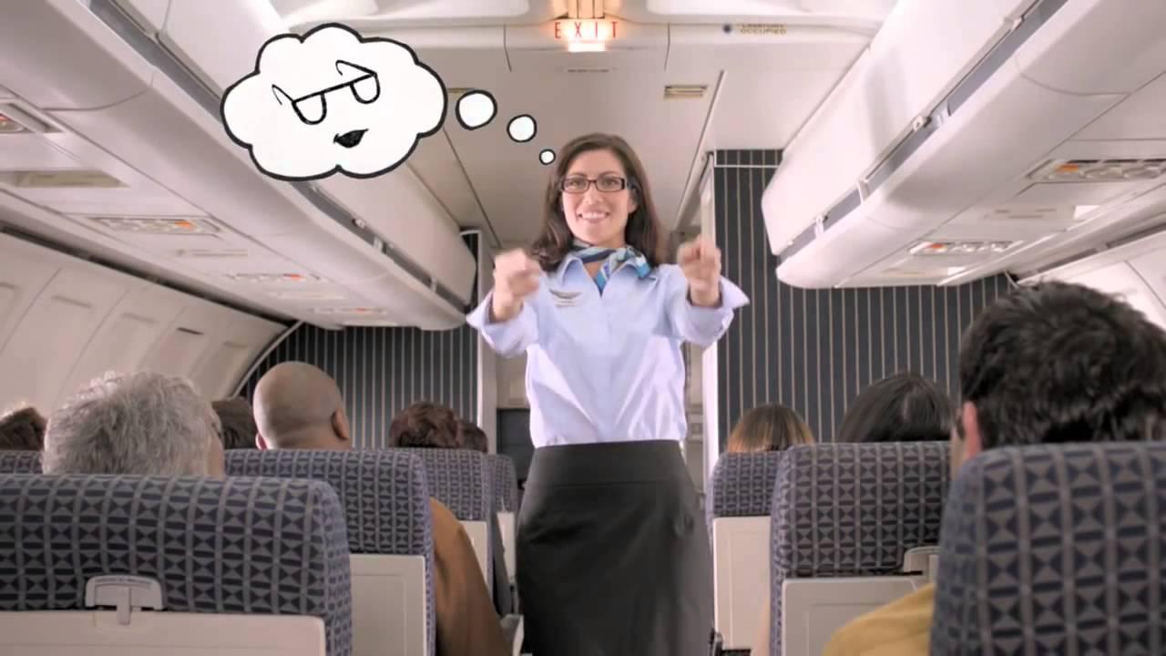 99da75b040 Visionworks Flight Attendant Michelle Laurent TV commercial - YouTube