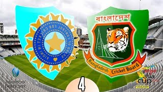 Asia Cup 2014 (Match 4) India v Bangladesh - (International Cricket 2010 Game)