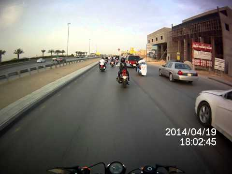 charity ride - autism children in Saudi Arabia