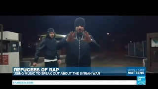 Meet the Refugees of Rap  Straight outta Syria