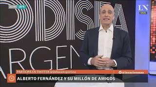 Carlos Pagni: Alberto Fernández y su millón de amigos - Editorial - Odisea Argentina