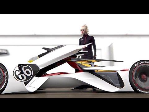 2014 Chevrolet Chaparral 2X VGT is Mind-Blowing Future Racer Concept