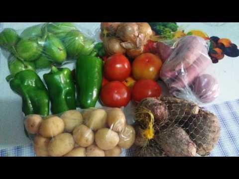 COMPRINHAS:  Verduras por R$10,00 | Super economia | VEDA #07