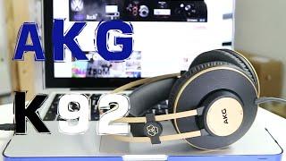AKG K92, Review en Español