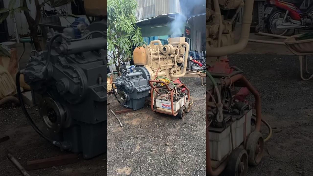 Cummins KTA19-600Hp , D300-7,5 gearbox. Phat Nguyen 0084 989 909 919