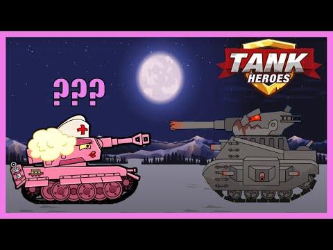 Game xe tăng - Sự điên rồ của xe tăng quái vật Liên Xô | Tank Heroes | Phim hoạt hình về xe tăng