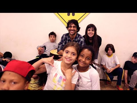 Welcome to the PFCF music school in Brazil | Escola Playing For Change, Cajuru, Curitiba Brazil