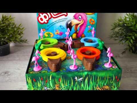 Ринго Фламинго. Веселая настольная игра для детей