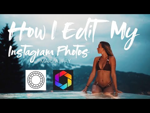 Tutorial 1 // HOW I EDIT MY INSTA PICS WITH AFTERLIGHT & VSCO