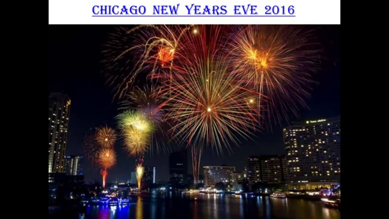 Chicago New years eve 2016   YouTube