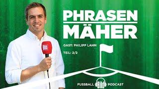 Philipp Lahm über seine Kindheit und Anekdoten aus seiner Karriere |  🎧Phrasenmäher Podcast
