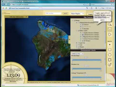 County of Hawaii Agricultural Application