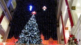 The Festival of Lights at the John Wanamaker Store