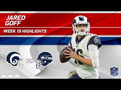 Jared Goff Highlights | Rams vs. Seahawks | NFL Wk 15 Player Highlights