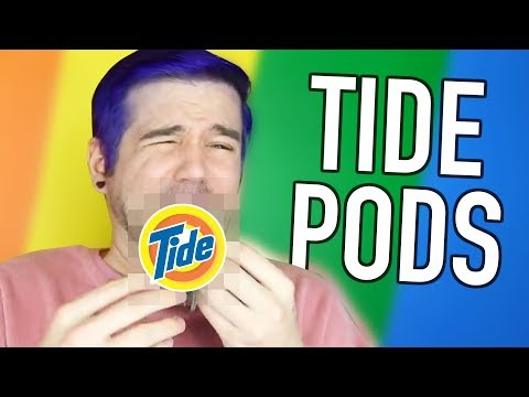 STOP EATING TIDE PODS
