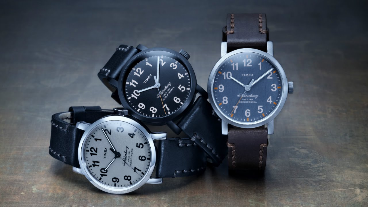 Timex the waterbury collection youtube for The waterbury