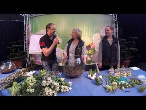 Gartenträume Rheinberg 2017 Experten Plaza Aftermovie von und mit Moderator Oliver W  Schulte