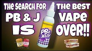 The Holy Grail of PB&J Vapes I PB & Jelly I Tricker Treatz