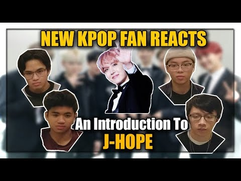 NEW KPOP FANS REACT TO AN INTRODUCTION TO J-HOPE!
