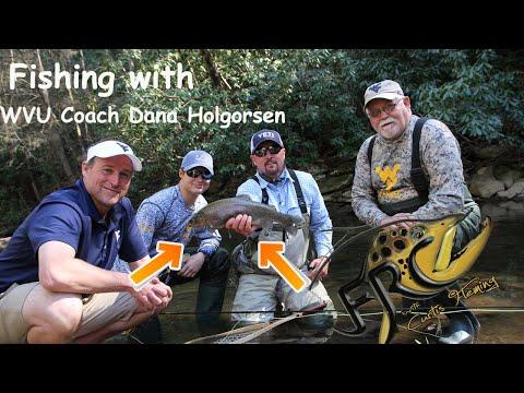 Fishing With WVU Head Coach Dana Holgorsen