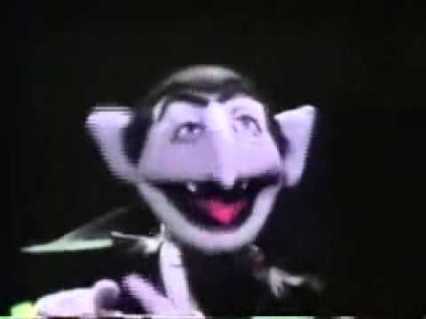 Classic Sesame Street The Count Counts Flowers