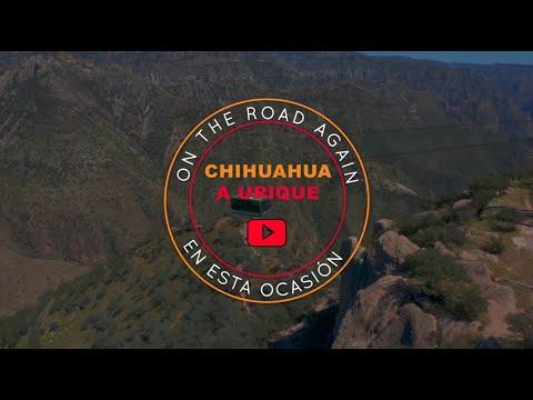 Un recorrido en auto de  Chihuahua a Urique