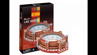 """Plaza de Toros """"Las Ventas"""" - Puzzle 3D"""