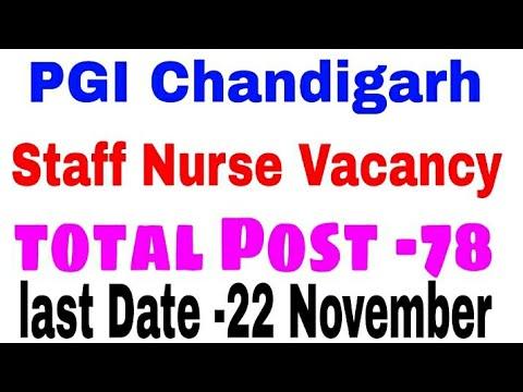 #Staff#Nurse#Vacancy#Pgimer#2019//Staff Nurse Recruitment Pgimer 2019/PGI Chandigarh Staff Nurse
