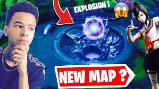 🔴THE ENERGY BALL VA EXPLOSER AND DETOLTHE THE MAP FORTNITE TO LOOT LAKE! Creative code: Kenzis