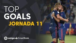 Todos los goles de la Jornada 11 de LaLiga SmartBank 2019/2020